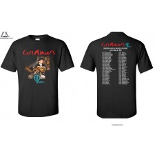 CARL PALMER ELP LEGACY- 2017  LIVE IN THE USA OFFICIAL TOUR SHIRT